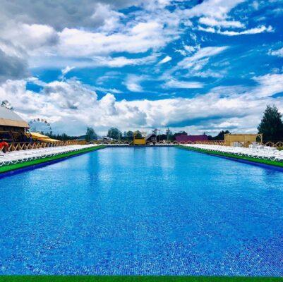 Бассейн в Юркин парке